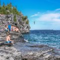 Beautiful Places in Ontario, Indian Head Cove Bruce Peninsula