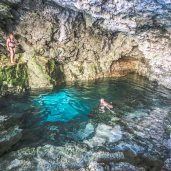 The Grotto, Must see Places in Ontario, Tobermory Ontario, Beautiful Places in Ontario, The Bruce Trail, Indian Head Cove Bruce Peninsula,