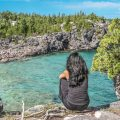 Indian Head Cove Bruce Peninsula
