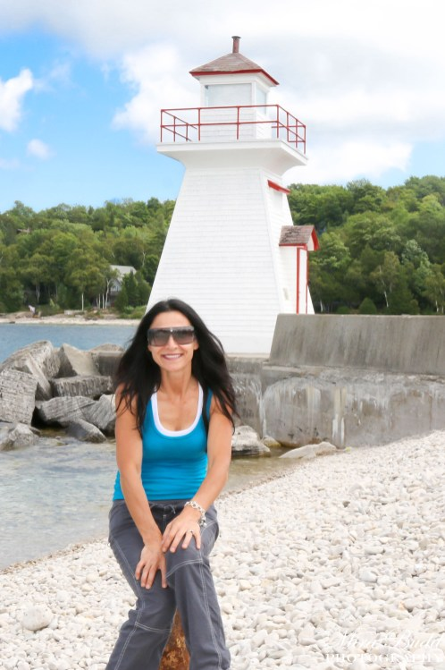 Lion's Head Lighthouse, Ontario Light Houses, Lion's Head Ontario, lion's Head Harbour, Beautiful Towns in Ontario, Places to Visit in Ontario,