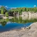 Swimming Hole in Elora Ontario