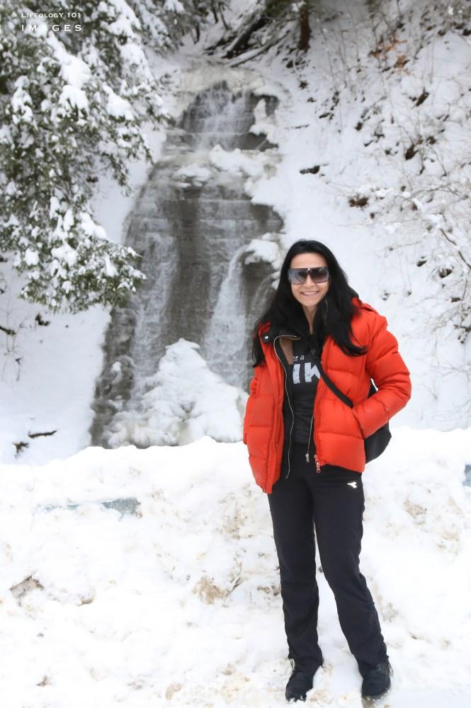 New York Waterfalls, Hiking Trails New York, Hiking Trails Near Ellicottville, Snowshoe Hiking Trails New York,