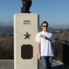 James Dean Statue - Griffith Observatory, Los Angeles California,
