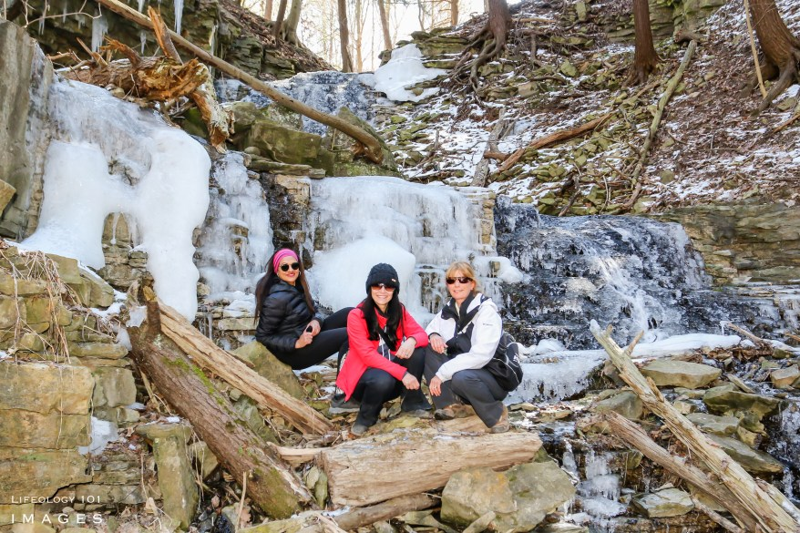 Ontario, Waterfalls, Hiking, Trails, Group,