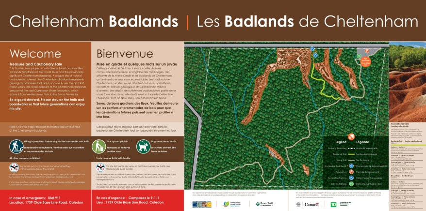 Cheltenham Badlands, Places to visit in Caledon, Ontario