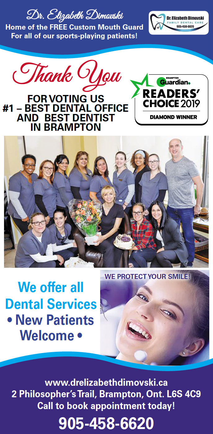 Dentist Near Me, Best Dentist in Brampton, Best Dental Office in Brampton,