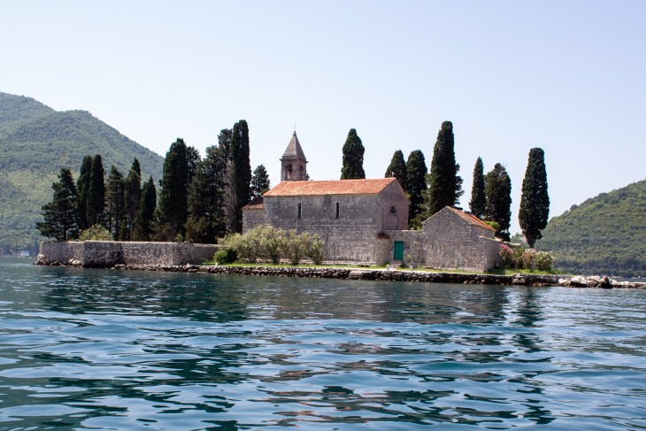 Island in the Bay of kotor
