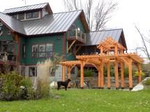 Monitor Barn House Plans