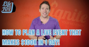 how to plan a live event
