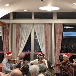 高齢者施設でのクリスマス会