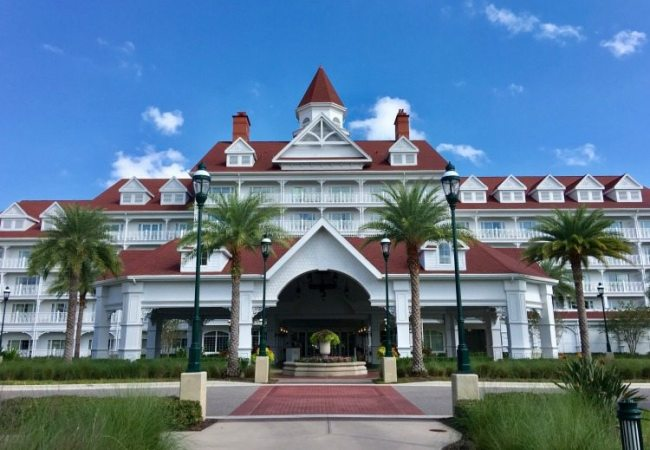 Walt Disney World Grand Floridian Entry