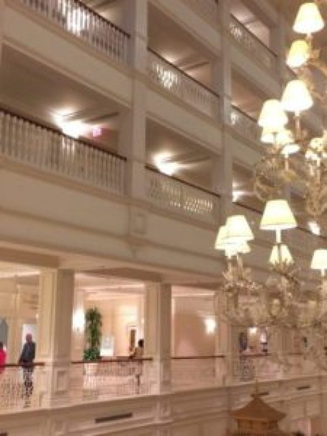 Walt Disney World Grand Floridian Interior Design and Decorating Victorian Style