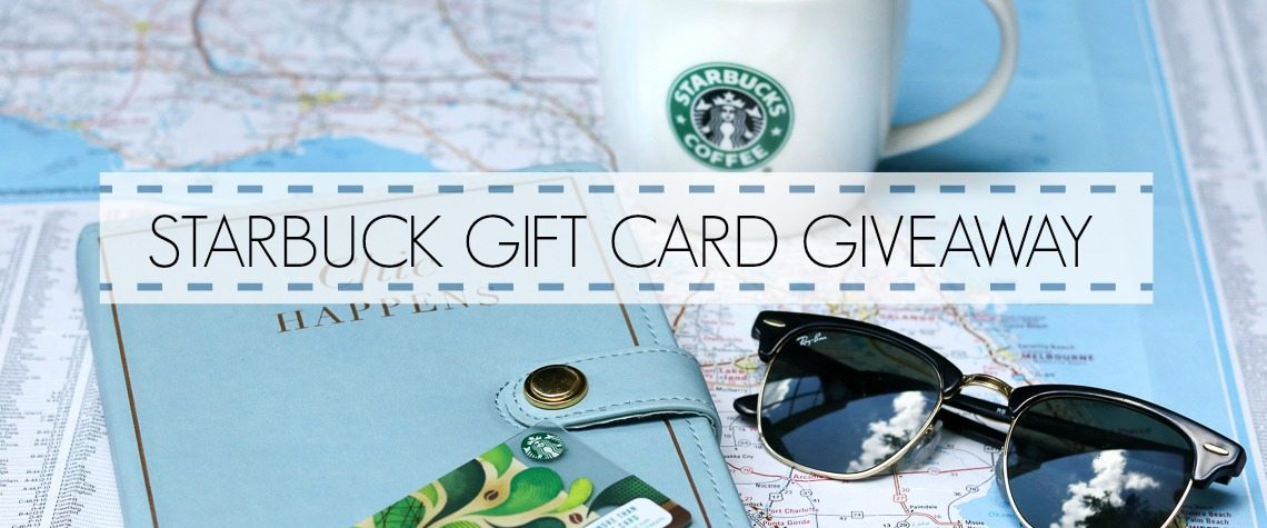 $10 STARBUCKS GIFT CARD GIVEAWAY