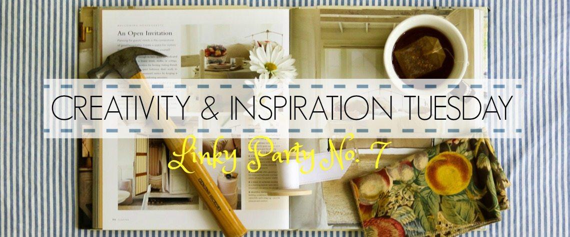 CREATIVITY & INSPIRATION TUESDAY {No. 7}