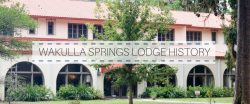 BEAUTIFUL OLD WAKULLA SPRINGS LODGE HISTORY