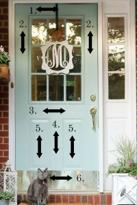 Copy of PAINT FRONT DOOR PAINT BY NUMBER   LIFE ON SUMMERHILL
