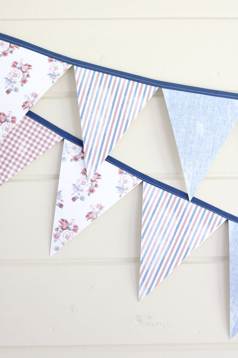 You can choose the favorite one to redesign or create a new design with the perfect look. 5 Easy Steps To Make This Diy Pennant Banner From Paper