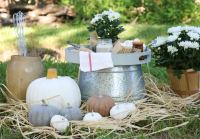 Outdoor Fall Decor Ideas for your Fire Pit Area plus Some ...