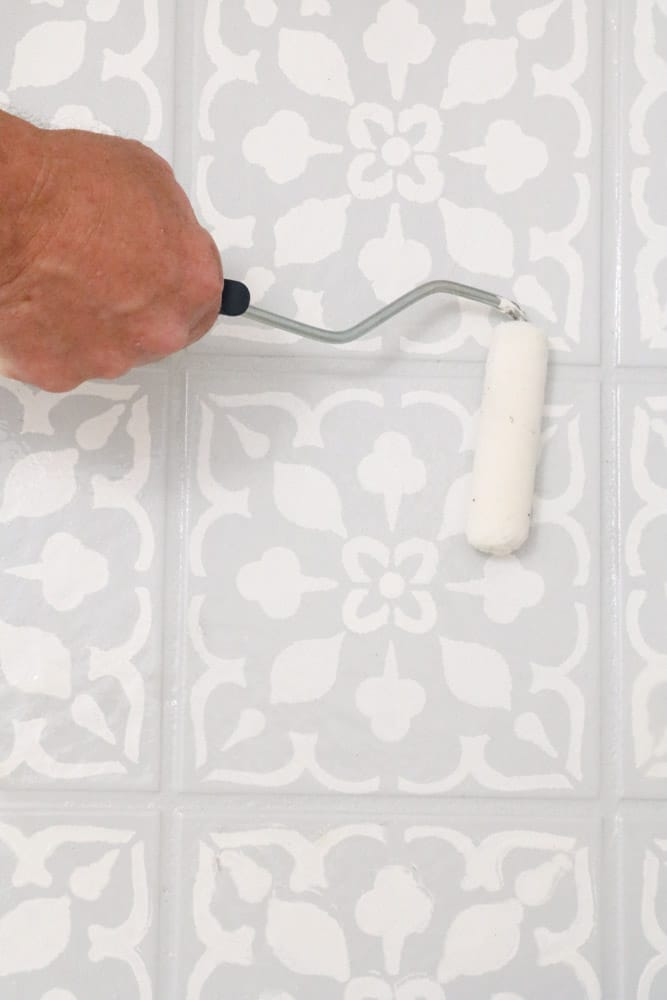 paint over tile floors that will make