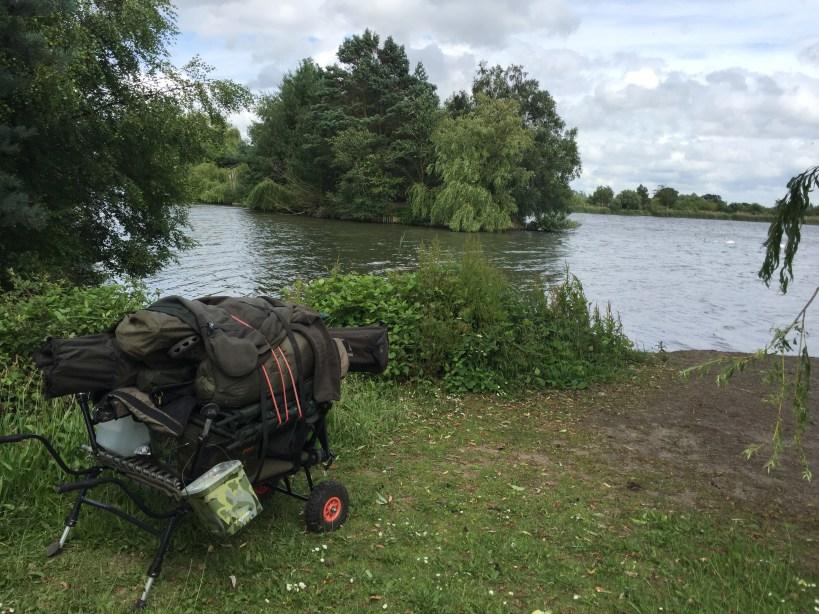 Fryerning fishing