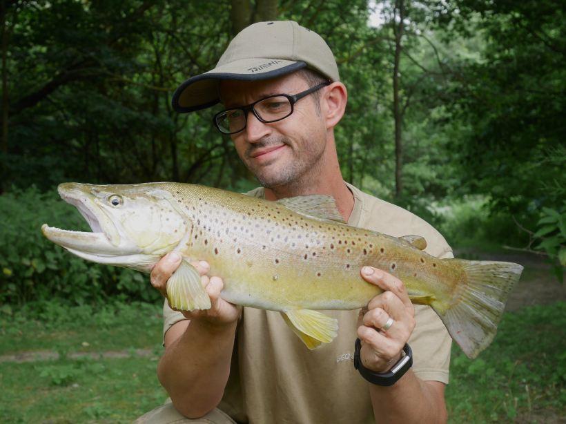 fishing the river lea