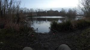 pike fishing lake