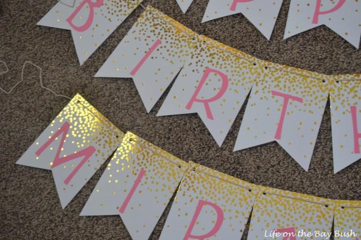 Easy Birthday Banner