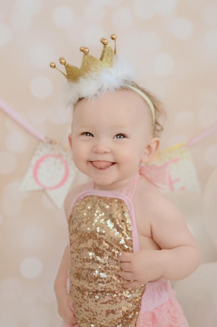 DIY First Birthday Crown Tutorial