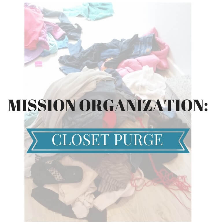 MISSION OGANIZATION-CLOSET PURGE canva
