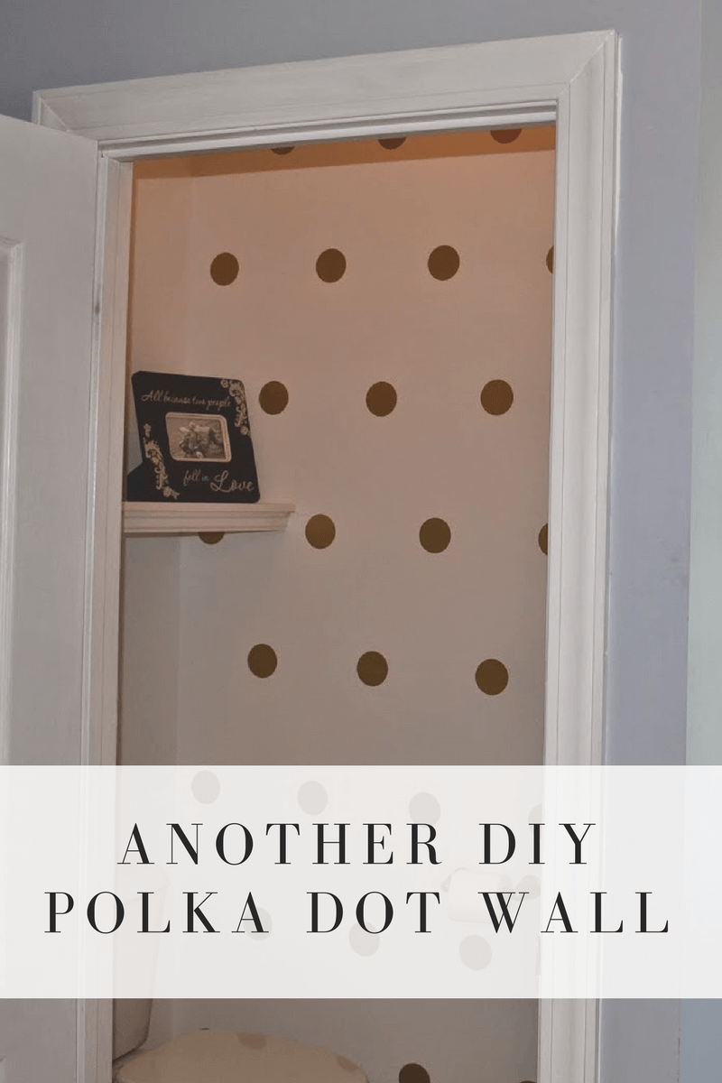 An Easier Polka Dot Wall