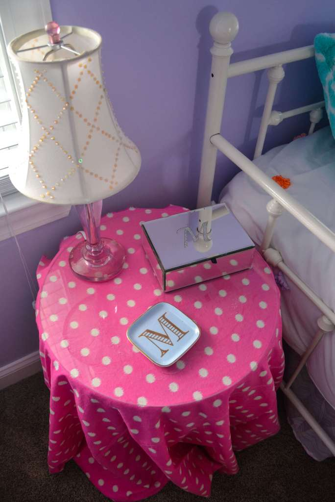 Pink Polka Dots are a must in any Tween Girl Bedroom!