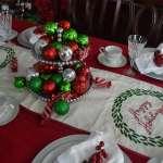 DIY Christmas Centerpiece and Garland