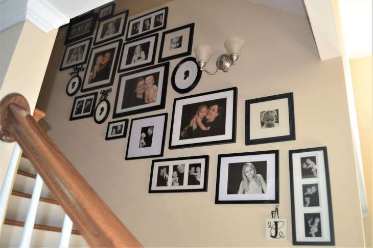 Stairs Gallery Wall
