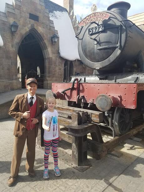 Universal Olrando Hogwarts Express