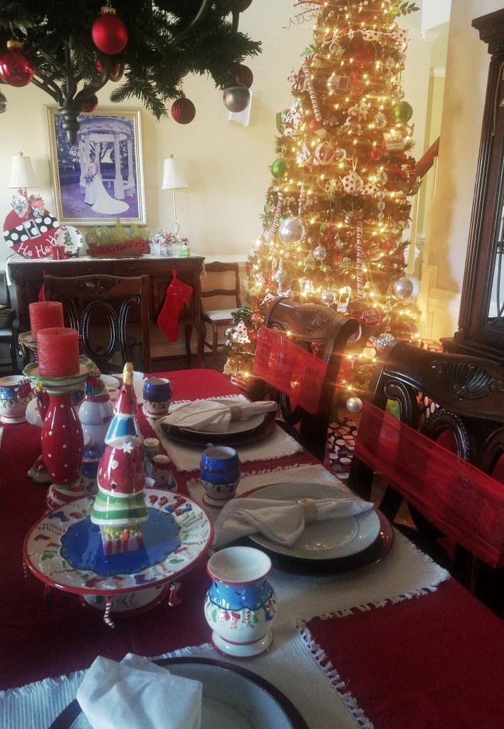 Christmas Home Tour - Formal Dining Room