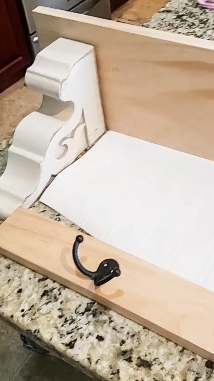 DIY Shelf Tutorial - Step by Step instructions for building your own farmhouse shelf