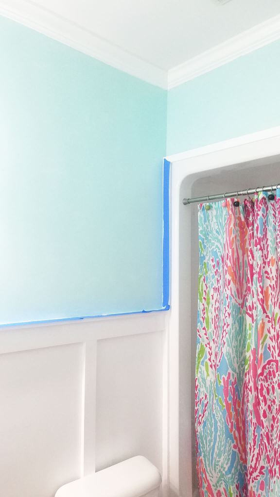 Mystic Sea by Valspar Bathroom Paint