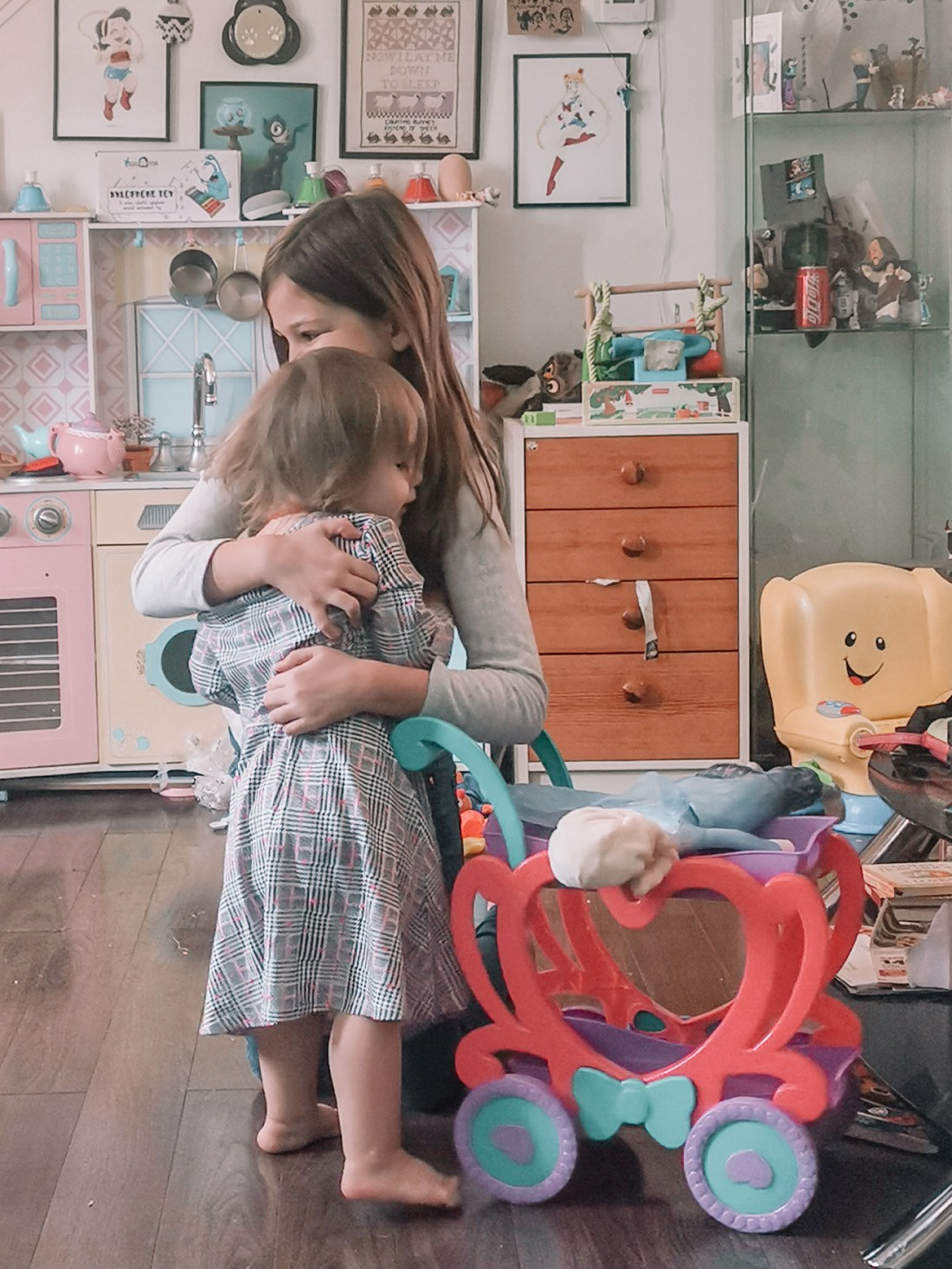 Edmonton, Alberta, Canada - Family Time is the best time, parenting is hard but when my kids hug like this it's worth it.