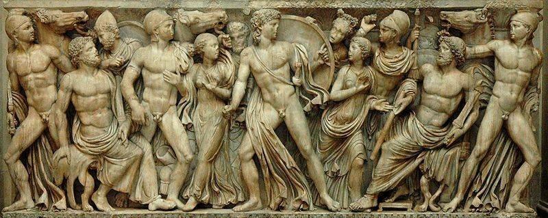 The ancient pantheon