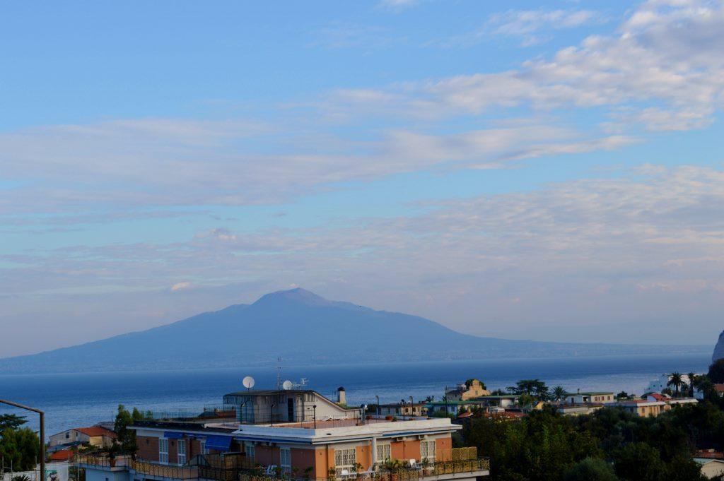 Mt Vesuvius view