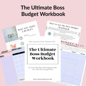 The Ultimate Boss Budget Workbook