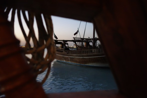 Sunset dhow cruise in Doha