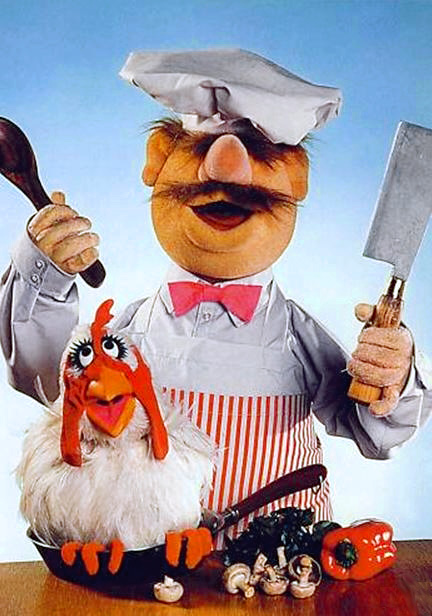 I couldn't think of a way to incorporate a Swedish Chef joke here but I will gratuitously use this image