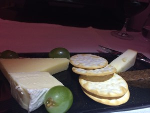 Cheese on board - Qatar airways has one of the best cheese offerings in the air