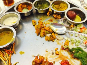 There was some paneer here somewhere?