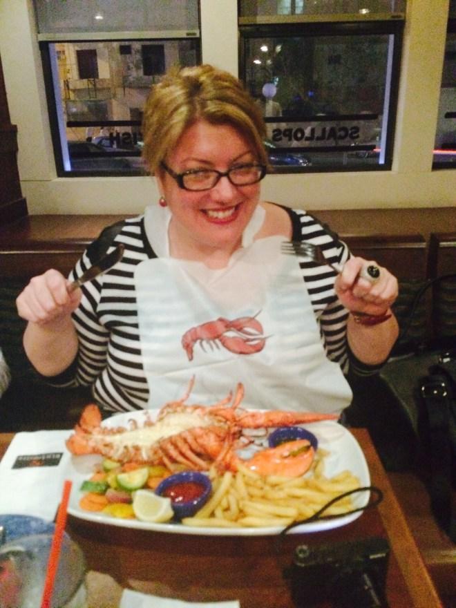 "Breaking my ""No Lobsters on a Weekday"" rule"