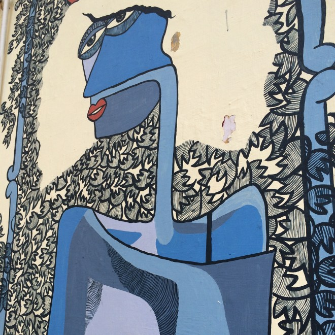 Street art in Panjim
