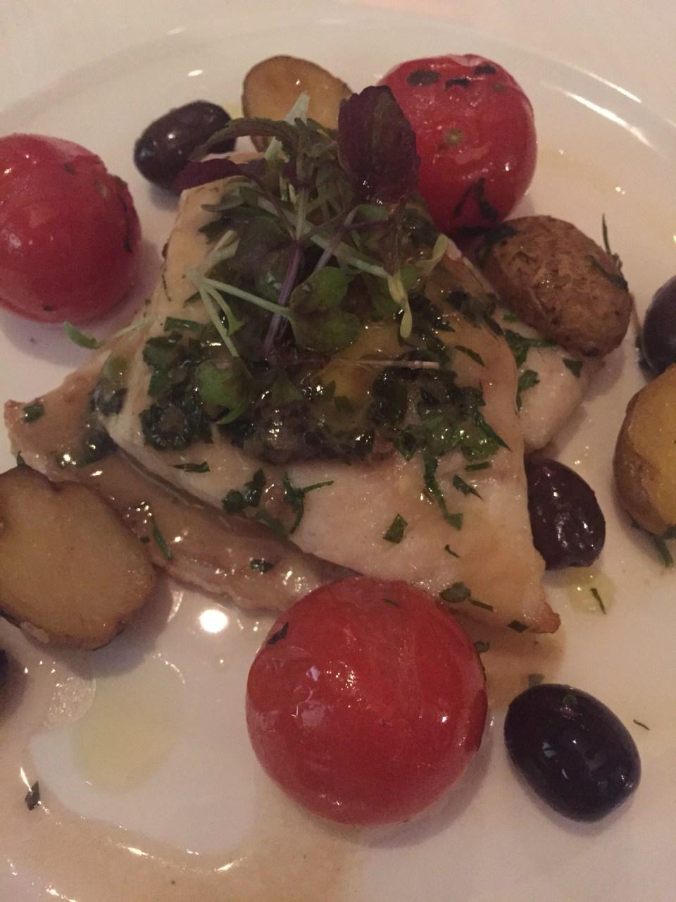 sea bass meal doha food blog italian food