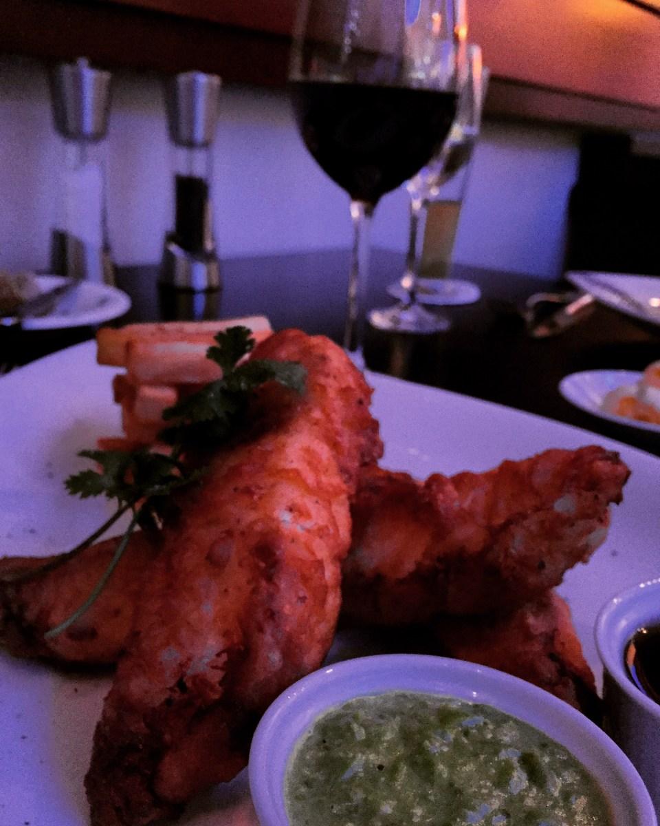 fish and chips food blogger Qatar