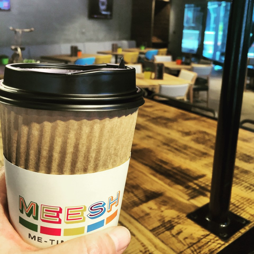 Cafe Doha food blogger